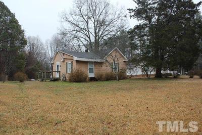 Wake County Single Family Home For Sale: 7900 Ebenezer Church Road
