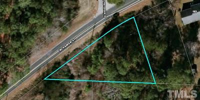Harnett County Residential Lots & Land For Sale: Lot 5 W Hamer Street