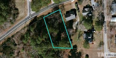 Harnett County Residential Lots & Land For Sale: Lot 4 W Hamer Street