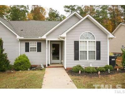 Clayton Townhouse For Sale: 3618 E Cotton Gin Drive