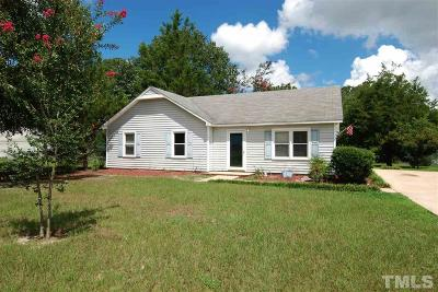 Willow Spring(s) Single Family Home Contingent: 125 D A King Drive