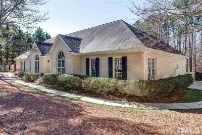 Raleigh Single Family Home For Sale: 4713 Bartwood Drive