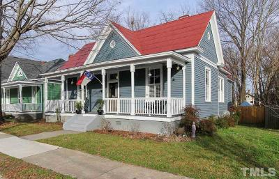 Raleigh Single Family Home For Sale: 307 S Swain Street