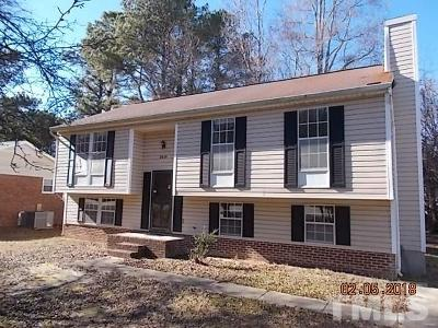 Raleigh Single Family Home For Sale: 2824 Barwell Road