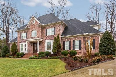 Raleigh Single Family Home For Sale: 1805 Silver Mist Court