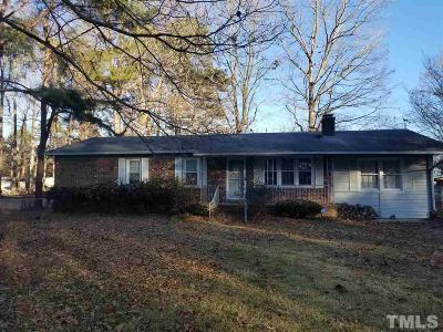 Fuquay Varina Single Family Home For Sale: 5521 Hilltop Road