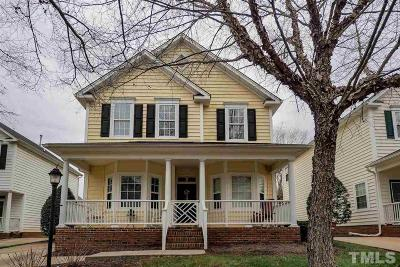 Wake County Single Family Home Contingent: 5001 Morning Edge Drive