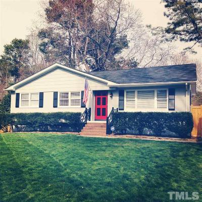Raleigh NC Single Family Home For Sale: $325,000