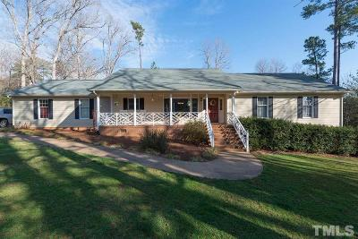 Pittsboro Single Family Home For Sale: 5 Crosswinds Estates