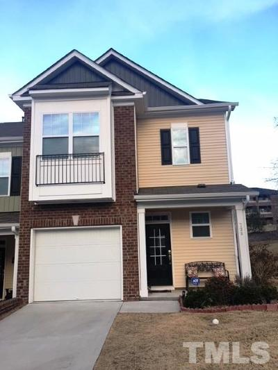 Cary Townhouse For Sale: 738 Silver Stream Lane