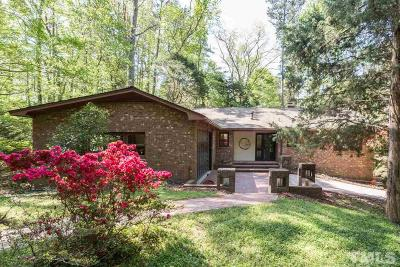 Chapel Hill Single Family Home For Sale: 411 Granville Road