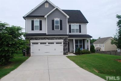 Holly Springs Single Family Home For Sale: 6204 Hirondelle Court