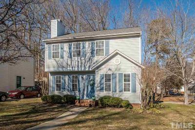 Cary Single Family Home Contingent: 105 Beacon Cove Drive