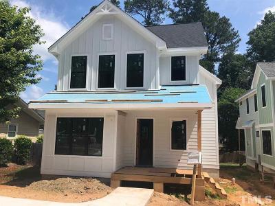 Raleigh Single Family Home For Sale: 807 Glascock Street