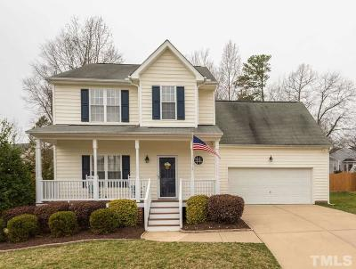 Apex Single Family Home Contingent: 206 Chapel Valley Lane