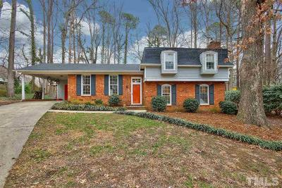 Cary Single Family Home Contingent: 406 Rustic Ridge Road