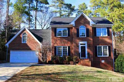 Cary Single Family Home Contingent: 105 Widecombe Court