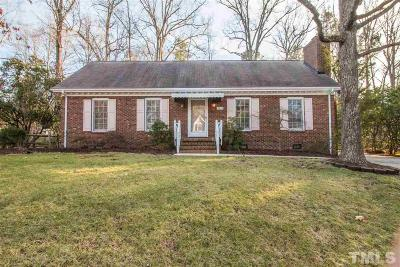 Durham Single Family Home Pending: 1613 Rowemont Drive