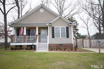 Fuquay Varina Single Family Home For Sale: 406 W Academy Street