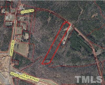 Lee County Residential Lots & Land For Sale: Cotten Road