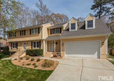 Raleigh Single Family Home For Sale: 5316 Coronado Drive
