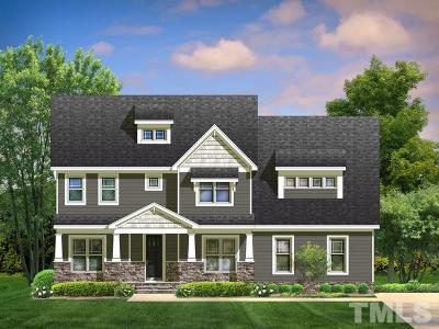 Wake Forest Single Family Home Contingent: 8816 Sprouted Lane #17