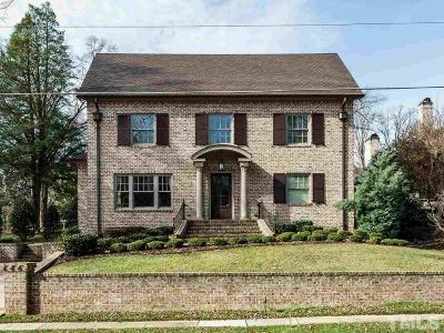 Hayes Barton Single Family Home For Sale: 1517 Iredell Drive