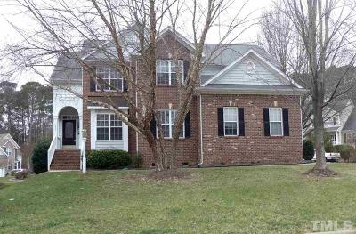 Cary Single Family Home Contingent: 200 Fairchild Downs