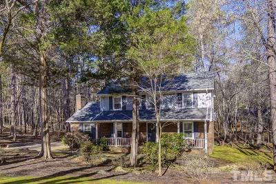 Chapel Hill Single Family Home For Sale: 123 Balsam Court
