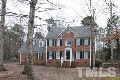 Wake Forest Single Family Home For Sale: 5325 Chimney Swift Drive