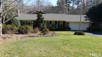 Raleigh Single Family Home For Sale: 5808 Winthrop Drive