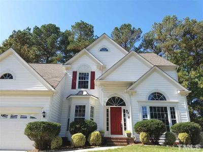 Cary Single Family Home Pending: 207 Swordgate Drive