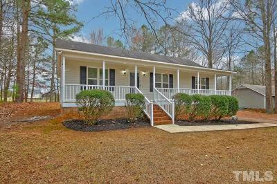 Clayton Single Family Home For Sale: 113 River Oak Drive