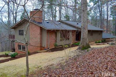 Chapel Hill Single Family Home For Sale: 1447 Poinsett Drive
