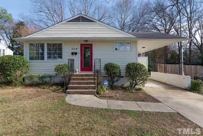 Raleigh Single Family Home For Sale: 2112 Watkins Street