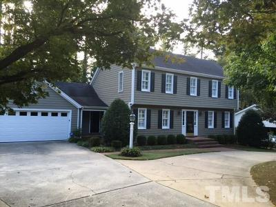 Raleigh Single Family Home For Sale: 3732 Lassiter Mill Road