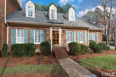 Raleigh Townhouse For Sale: 447 Van Thomas Drive