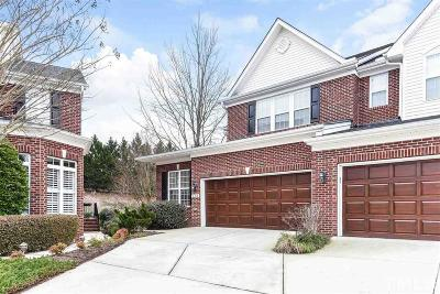 Morrisville Townhouse For Sale: 148 Grande Drive