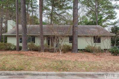 Raleigh Single Family Home Contingent: 3016 Sylvania Drive
