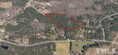 Orange County Residential Lots & Land Pending: Lot 2A Hedgerow Lane
