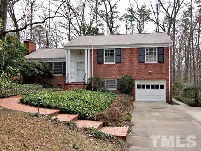 Chapel Hill Single Family Home For Sale: 315 Granville Road