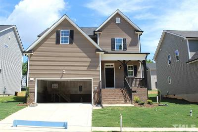 Clayton Single Family Home For Sale: 78 W Lumber Court