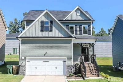 Clayton Single Family Home For Sale: 66 W Lumber Court