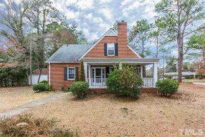 Johnston County Single Family Home Contingent: 103 W Parker Street