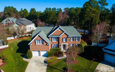Raleigh Single Family Home Contingent: 9300 Teton Pines Way