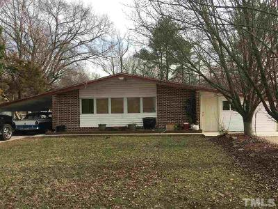Siler City Single Family Home For Sale: 1406 E Raleigh Street