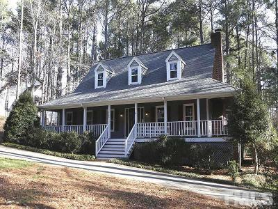 Raleigh Single Family Home Contingent: 8200 Kingswood Court