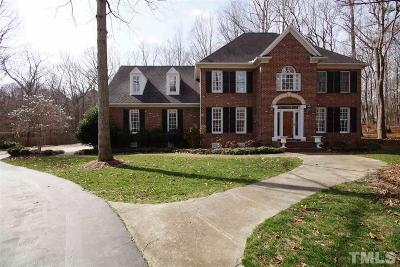 Raleigh Single Family Home For Sale: 6325 Battleview Drive