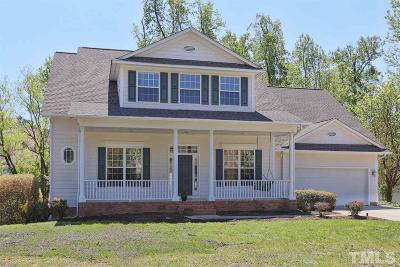 Cary Single Family Home Contingent: 105 Kelly Springs Court