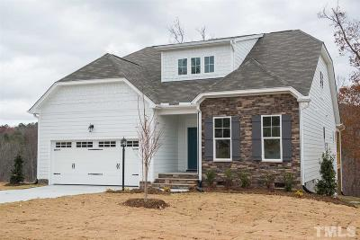 Chapel Hill Single Family Home For Sale: 7 Timber Creek Path #219